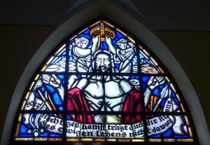 Fenster in der Martin-Luther-Kirche zu Silute, früher Heydekrug, Litauen - Foto Frels