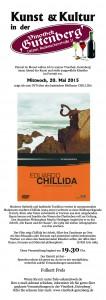 Chillida - Flyer