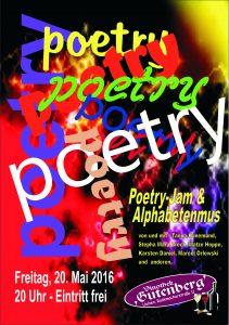 Poetry-Flyer Mai 2016